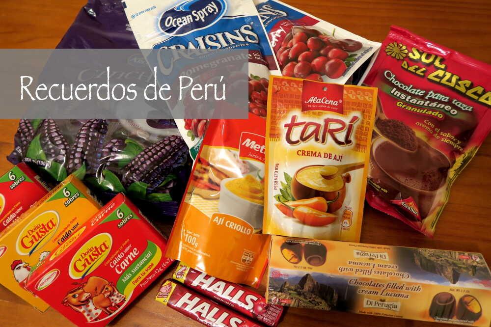 ペルーのお土産