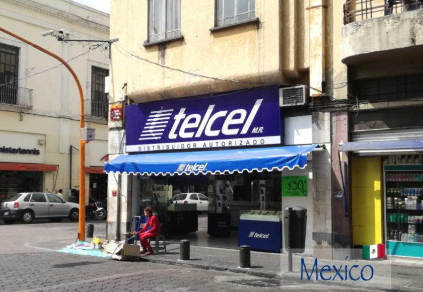 メキシコtelcelショップ