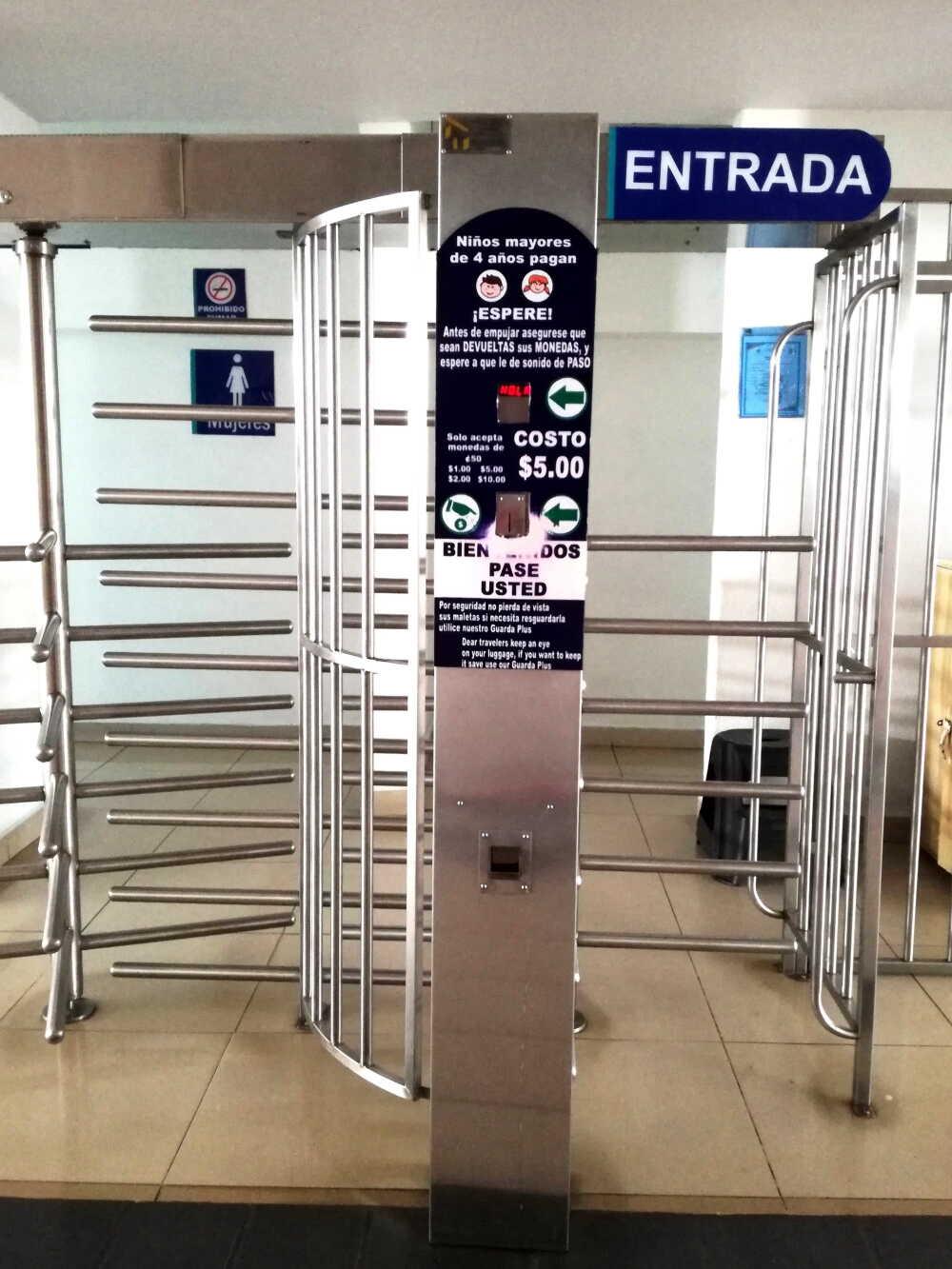 メキシコのトイレ