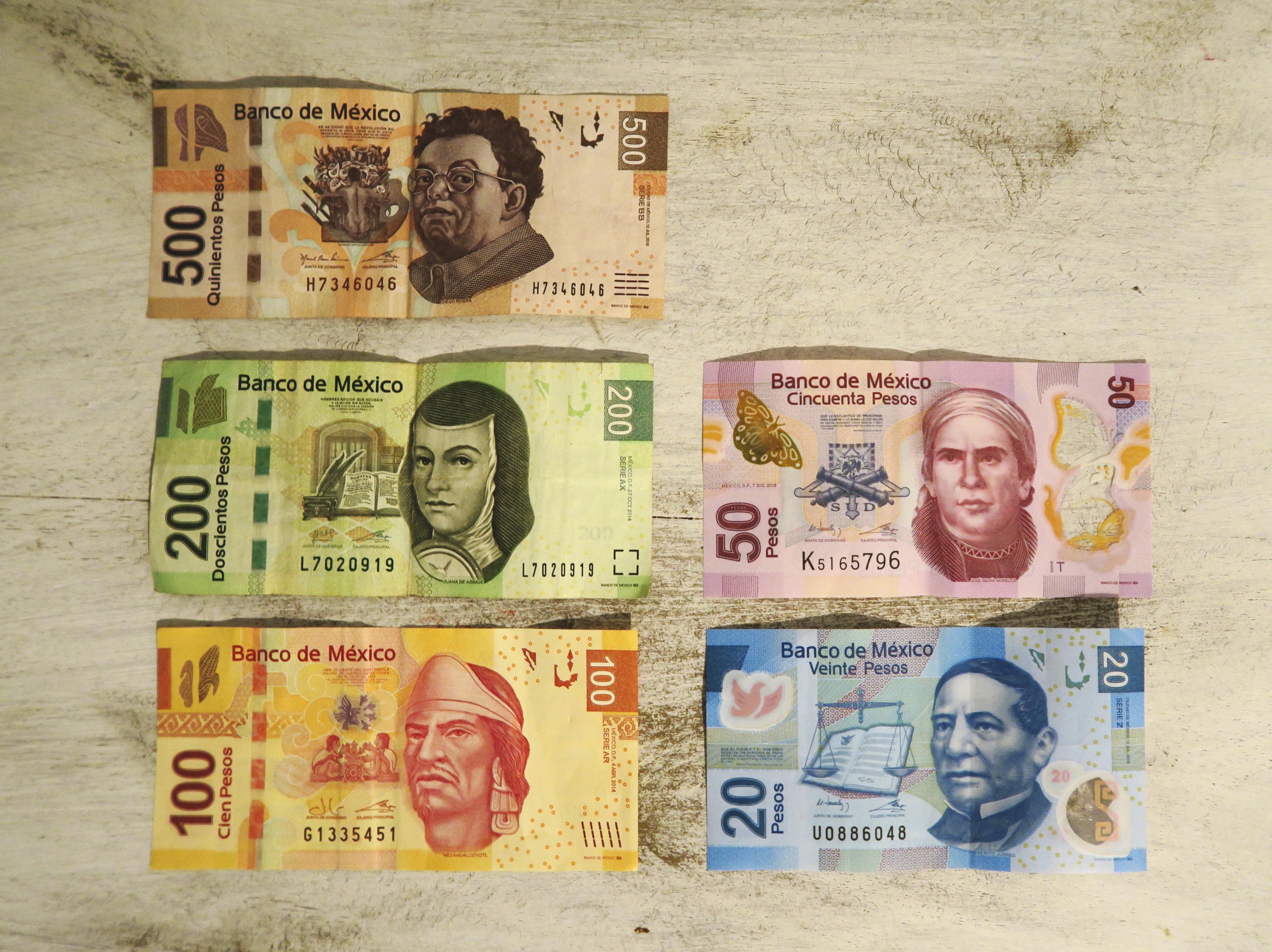 メキシコ旅行のお金とチップについて