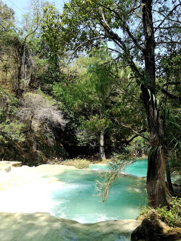 チフロンの滝ハイキングコース