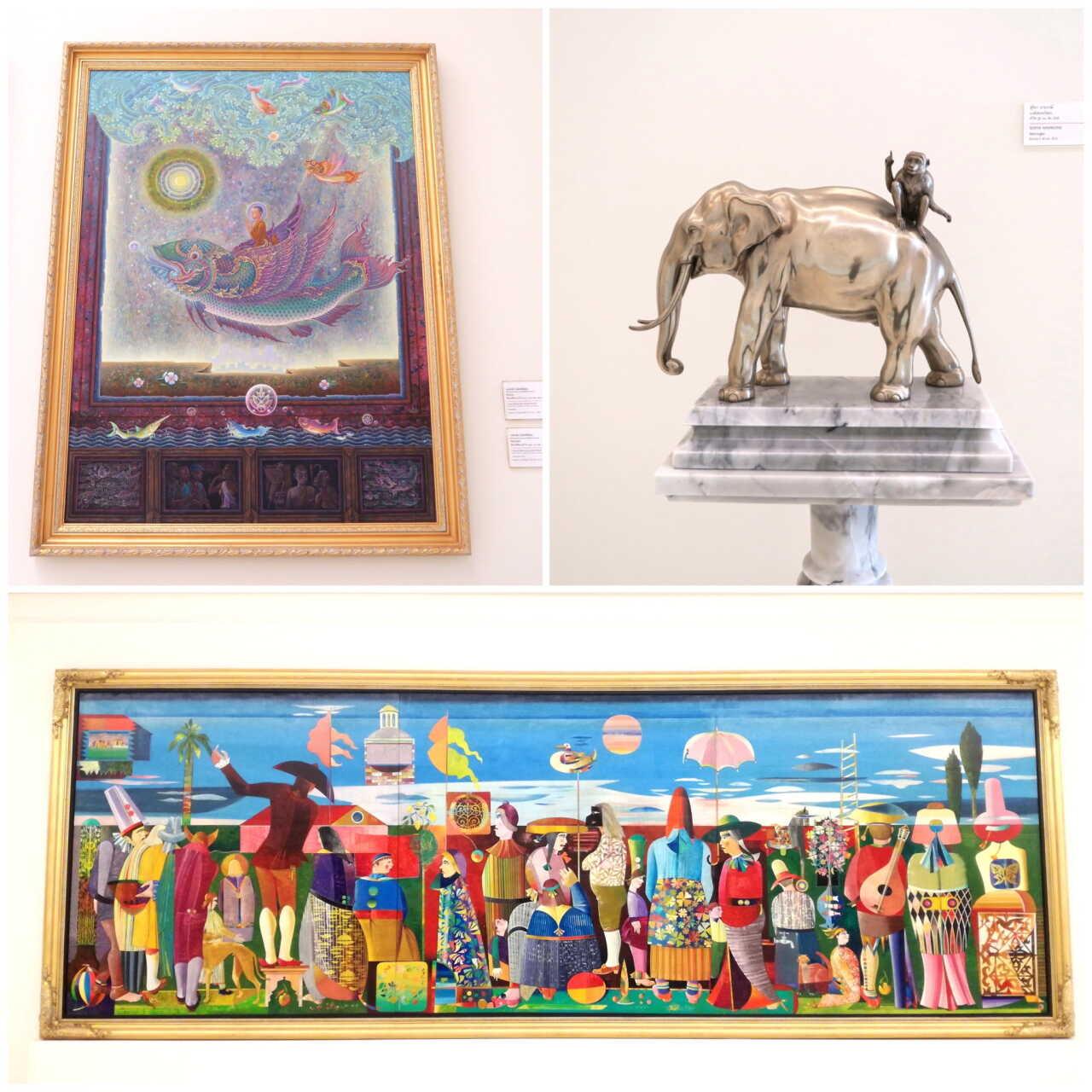 絵画バンコク現代美術館