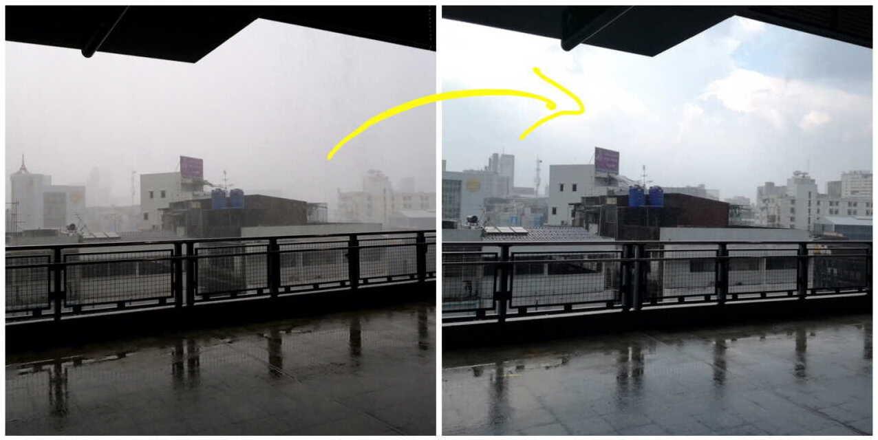 バンコク雨