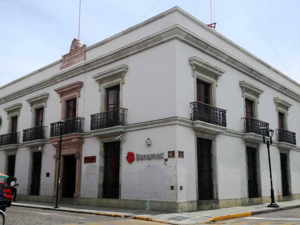メキシコの銀行