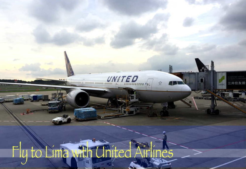 fly to lima with united airlines