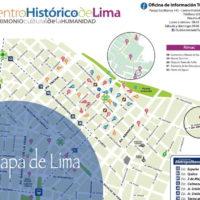 ペルーリマ地図
