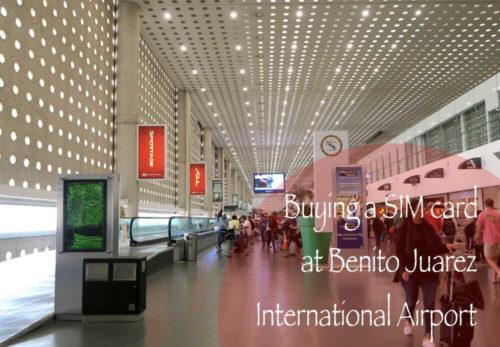メキシコシティ・ベニートファレス空港
